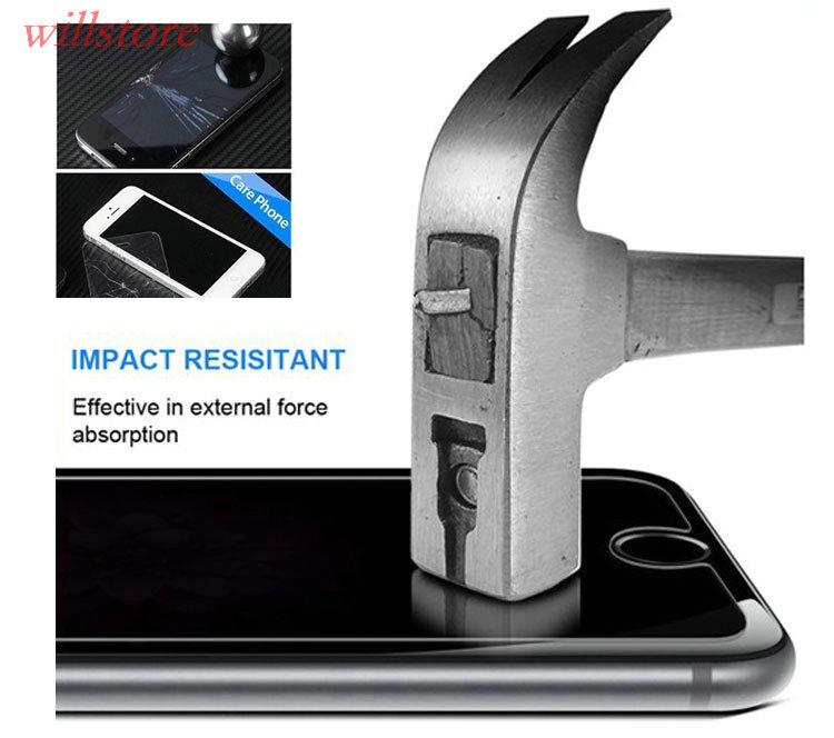 Tempered Kaca Screen Protector KASUS film untuk Xiaomi Mi4W Mi4 Mi4c - Aksesori dan suku cadang ponsel - Foto 5