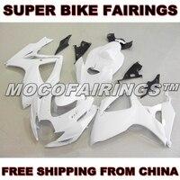 Motorcycle Unpainted ABS Fairing Kit For Suzuki GSXR GSX R 750 600 2006 2007 K6 Fairings Kits Bodywork Pieces