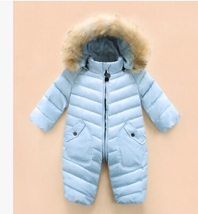 High-quality-2017-New-brand-winter-outerwear-baby-rompers-duck-down-coat-for-newborn-snowsuit-infant-costume-big-nature-fur-3