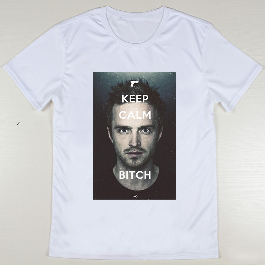 cool custom design Jesse Pinkman men T Shirts Logo Printing ...