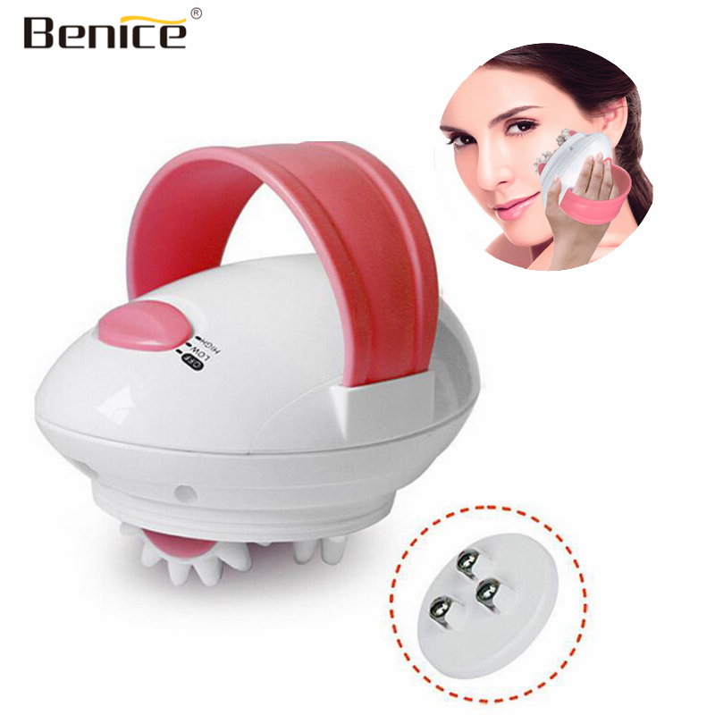 Benice Handheld Electric Facial Massager Roller Machine Anti Wrinkle 3D Face-Lift Slimming Face Body Shaper Massage Beauty Tools slimming lift leggings elimination belly fat slimmer thighs lift butt body shaper