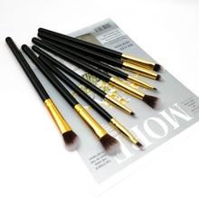 8PCS Makeup Brush Set Eyeshadow Blending Concealer Lip Brushes for Eyes Professional Beauty Tool Kit