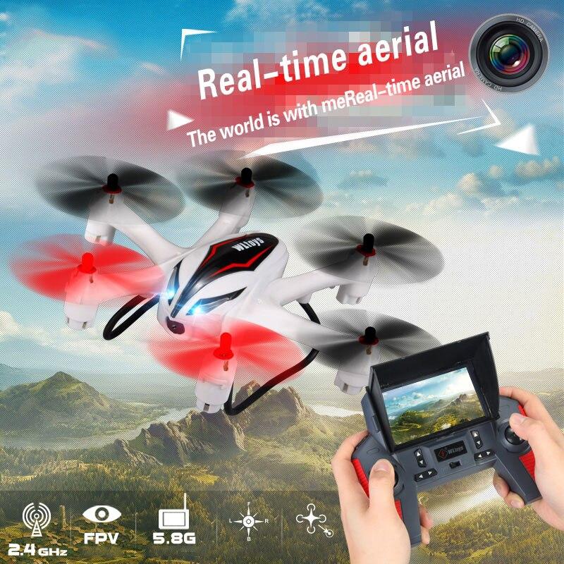 WL Игрушечные лошадки q929 мини Drone headless режим ddrones 6 оси гироскопа Квадрокоптер 2.4 ГГц 4ch Дрон один ключ возврата RC вертолет Игрушечные лошадки