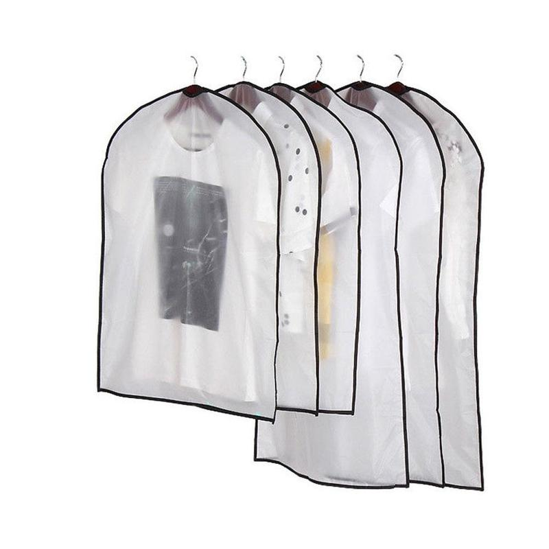 Waterproof Clothes Dust Cover Storage Bag Wardrobe Clothes Organizer Suit Coat Protector Household Clothing Garment Bags