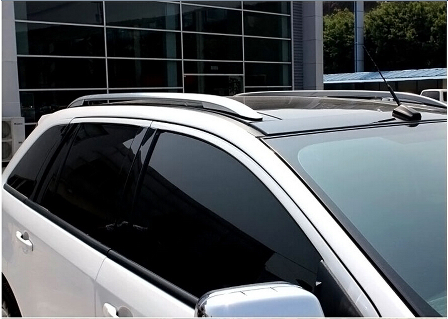 Roof Rails Silver 2 Piece Set The Official Site For Ford