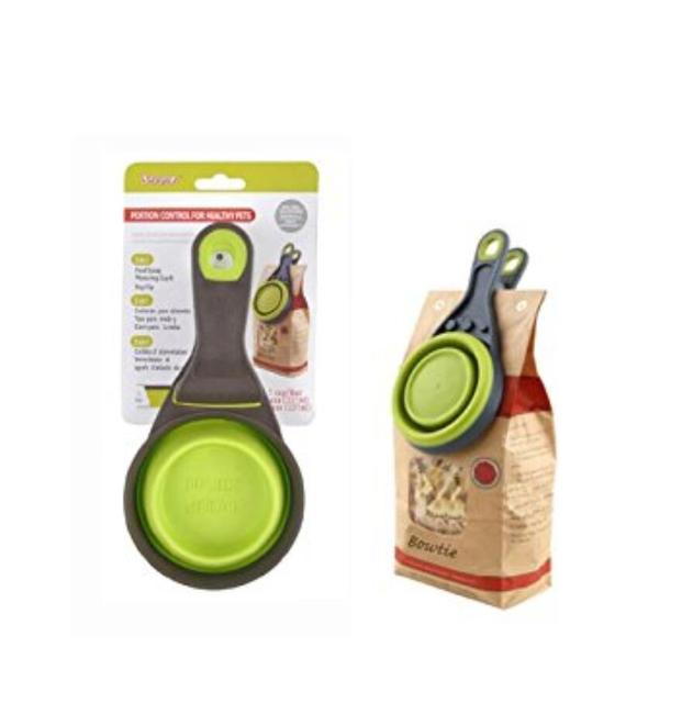 NEW Durable Portion Control Pet Food Scoops 2