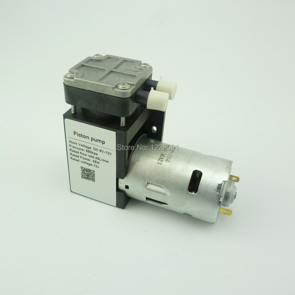 DC 35W 85kpa Electric Mini Vacuum Pump 12v Piston Vacuum Pump