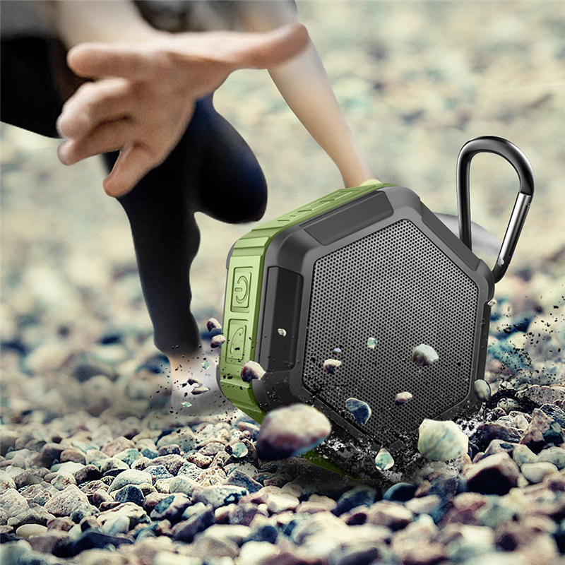 M&J IP67 Waterproof Mini Bluetooth Speaker With Powerful Sub Woofer For Outdoors 8