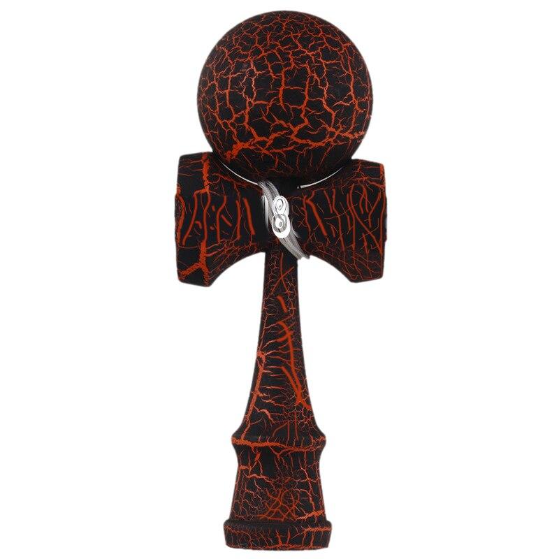 La crujido de madera Kendama bola de la educación tradicional juego juguete