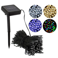 CANSHUO 52M 500Led Fairy Garland IP67 Waterproof LED Solar String Lights For Outdoor Wedding Christmas Home New Year Decoration