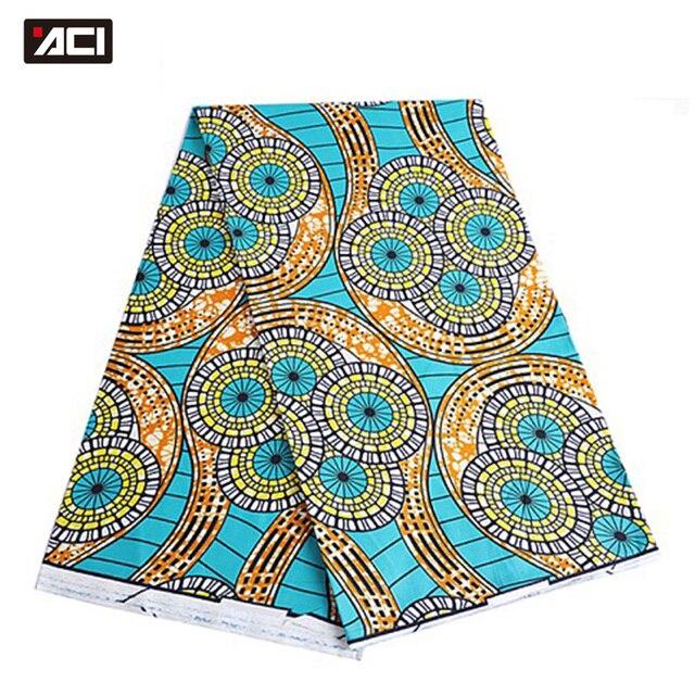 ACI Super Hollandais Wax High Quality Super Wax Hollandais 2018 Dutch Wax African Wax Hollandais Hot Sale Design For Women Dress 4