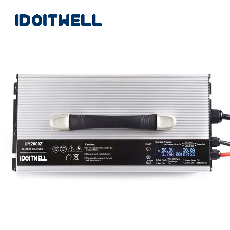 Chargers Intellective Customized 1200w Series 12v 50a 24v 30a 36v 20a 48v 20a 60v 15a 72v 12a Battery Charger For Lead Acid Lithium Or Lifepo4 Battery