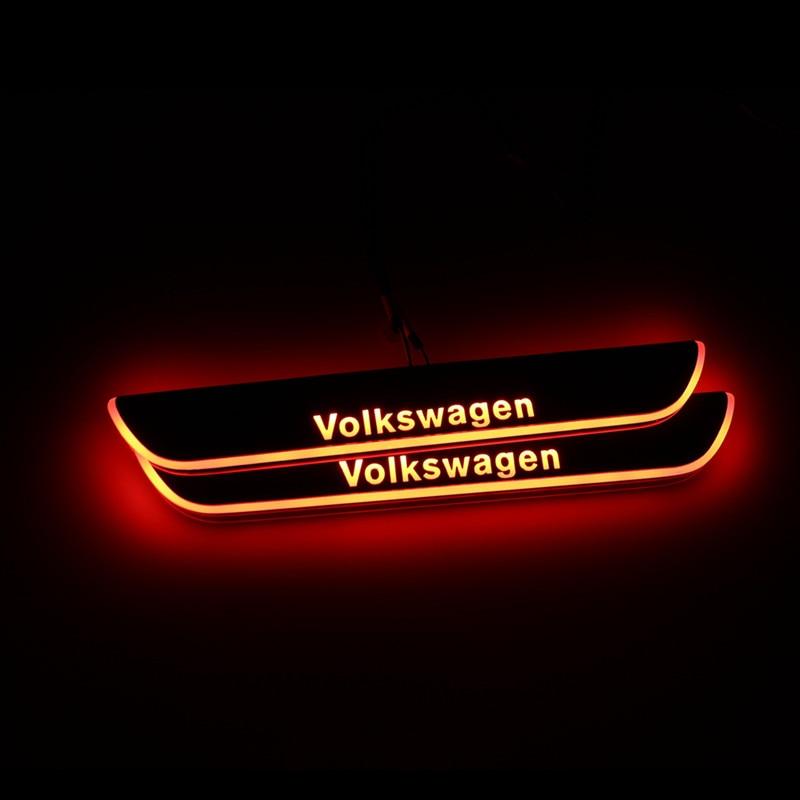 Led Door Sill For Volkswagen VW Passat CC 2013 2014 2015