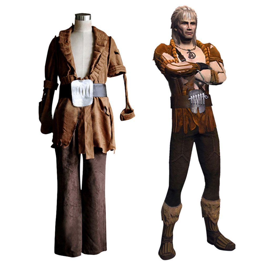 Star Trek II: The Wrath of Khan Cosplay Khan Noonien Singh Costume Set Custom Made
