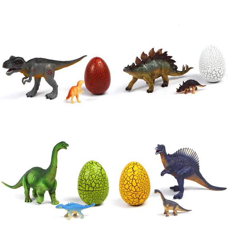 Jurassic World Dinosaur Eggs Plastic Dinosaur Toys Model Action Figures Boys Xmas Christmas Gift Boys Toys roly-poly dinosaur action