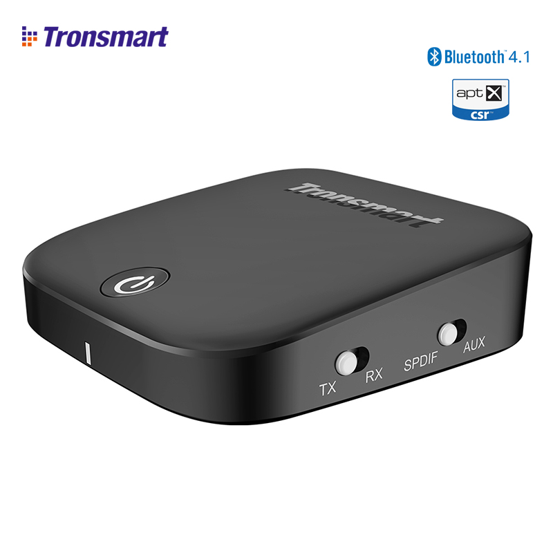 Tronsmart Encore M1 Bluetooth Audio Empfänger und Bluetooth Sender Adaptador Bluetooth 4,1 Rezeptor Bluetooth AUX aptx SPDIF