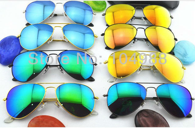 FREE SHIPPING FASHION MIRRORED MIRRORED SUNGLASSES OR PRINCE ROUND LENSES SUNGLASSES MORE COLORS