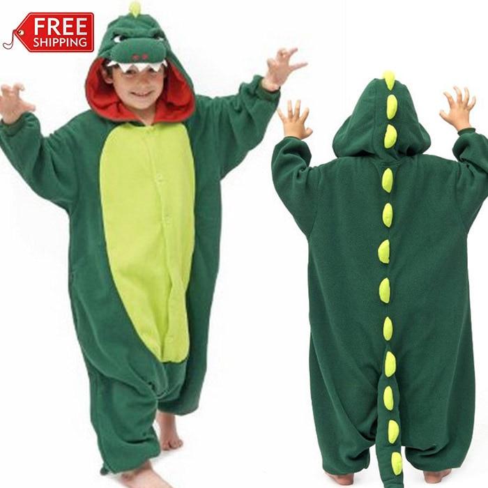 Aliexpress.com : Buy Green Dinosaur Animal Onesies Pyjamas ...
