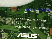 Working + NEW !!! FREE SHIPPING Main board for ASUS K53SD REV : 2.3 Laptop motherboard..