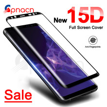 15D Screen Protector For Samsung Galaxy S9 S8 Plus A6 A8 Plus 2018 Full Cover Te