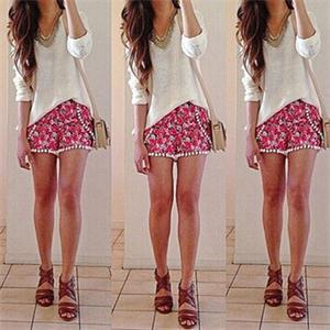 Cute Womens Shorts - The Else