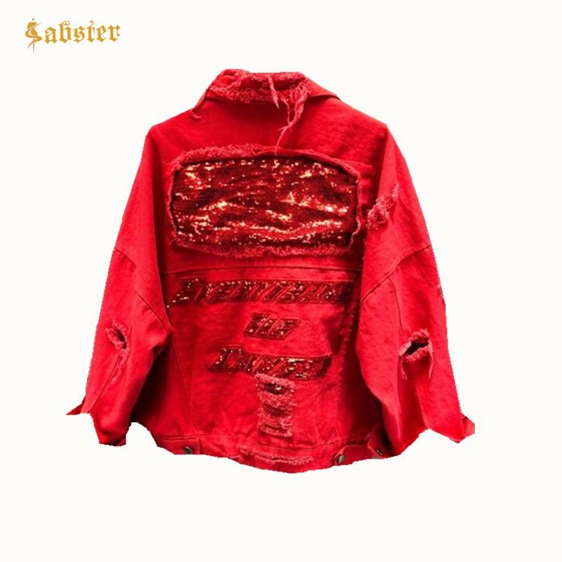 Women Casual Vintage Women Coat Spring   Basic     Jackets   Autumn Long Sleeve Sequins Patchwork Design Outerwear XZ400