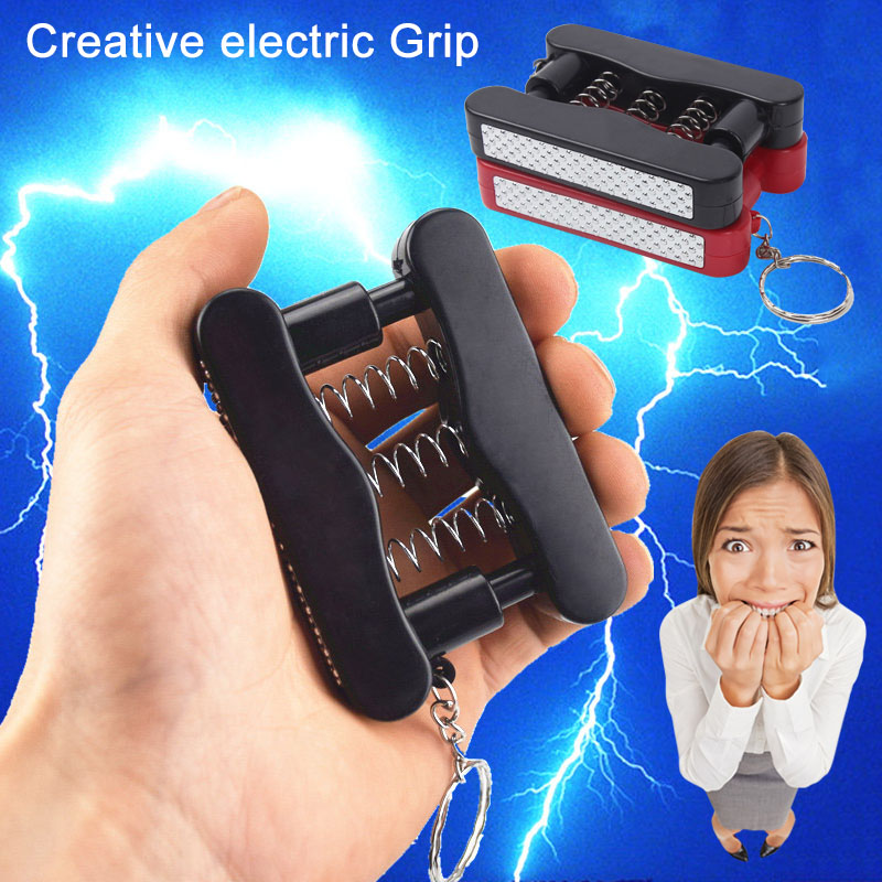 Hand Grips Shock Grip Electric Shock Toy Funny April Fools Day Gifts Prank Toys Joke Gifts YS-BUY