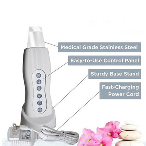 cravo remocao facial vibracao massageador maquina de peeling esfoliante pa limpa