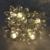 2017 día de led al aire libre de la boda amante decoración 5 m longitud novelty de loto luz de la secuencia de la batería cordón de iluminación led-lamper
