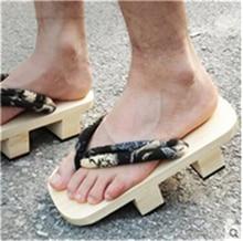 2017 Новый Японский Гета Сабо Обуви Флип-флоп Сандалии Платформы Деревянные Тапочки Противоскользящие Аниме Косплей Женщины Размер Обуви 35-40
