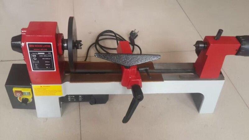 Купить с кэшбэком Small household machine tools, lathes, woodworking machines, mini lathes