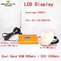 2G GSM DCS sinal de reforço dual band 900 MHZ 1800 MHZ telefone móvel ao ar livre base magnética Antena 10 M cabo de Antena de teto interior