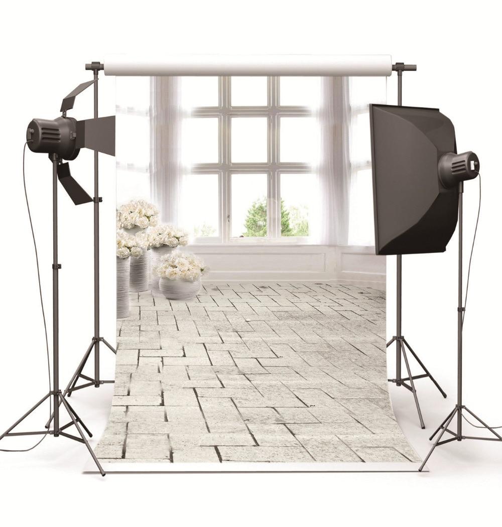 Photography Background for Baby Photo Studio Children Wedding Indoor White Window Vinyl Photographic Backdrop for Photo Shooting