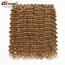 Deep Wave Bundles Human Hair 27 Blonde Bundles Brazilian Hair Weave Bundles Honey Blonde Human Hair