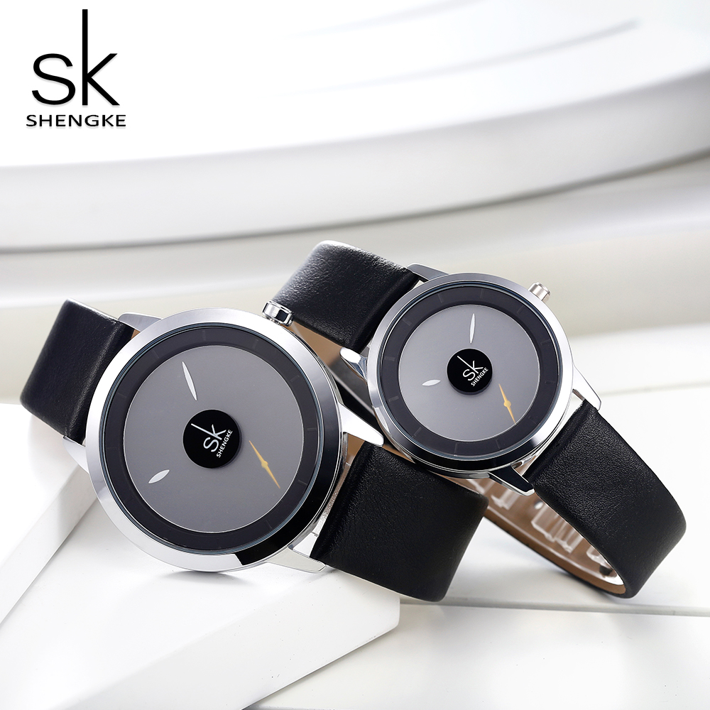 Shengke Couple Watches Fashion Quartz-Watch Women Wristwatch Clock Relojes Mujer Casual Ladies Watch Montre Femme Creative DialShengke Couple Watches Fashion Quartz-Watch Women Wristwatch Clock Relojes Mujer Casual Ladies Watch Montre Femme Creative Dial