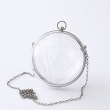 Buy round transparent bag and get free shipping on AliExpress.com f06890c4626e