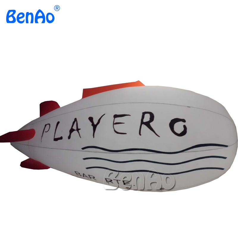 AO118 Crazy Price! PVC 26ft 8m Inflatable Lighted Helium Airship Blimp zeppelin with tail & Free Repair kits / Free Shipping hb15 wholesale price pvc 3m long inflatable airplane airship blimp zeppelin with tail black air plane