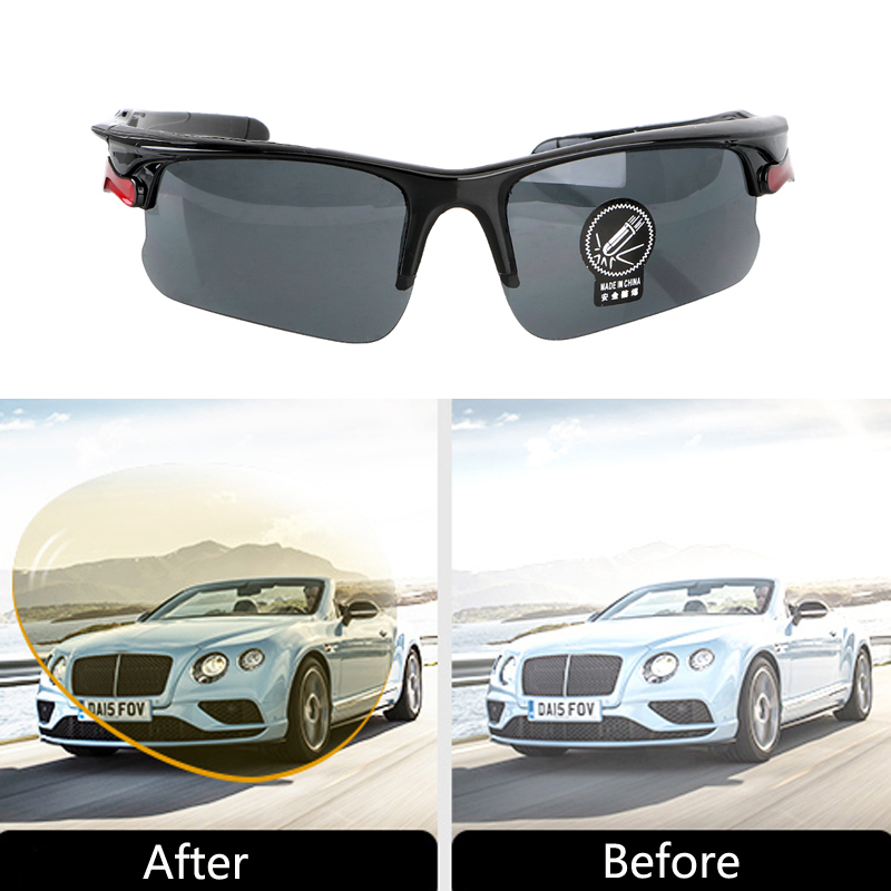 Car Night Vision Glasses Driving UV Protection Sunglasses For Toyota Corolla RAV4 <font><b>Camry</b></font> Avensis Yaris Hilux Prius Land Cruiser image