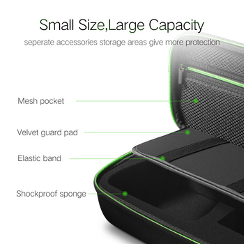 Ugreen Storage Bag for Nintend Switch Nintendos Switch Console Case Durable Nitendo Case for NS Nintendo Switch Accessories 1