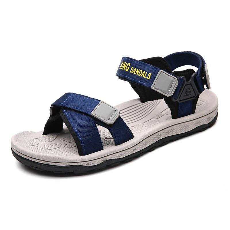 Mens Sandals Summer 2019 New Gladiator Flip Flops Flat for Men Large Size 36-44