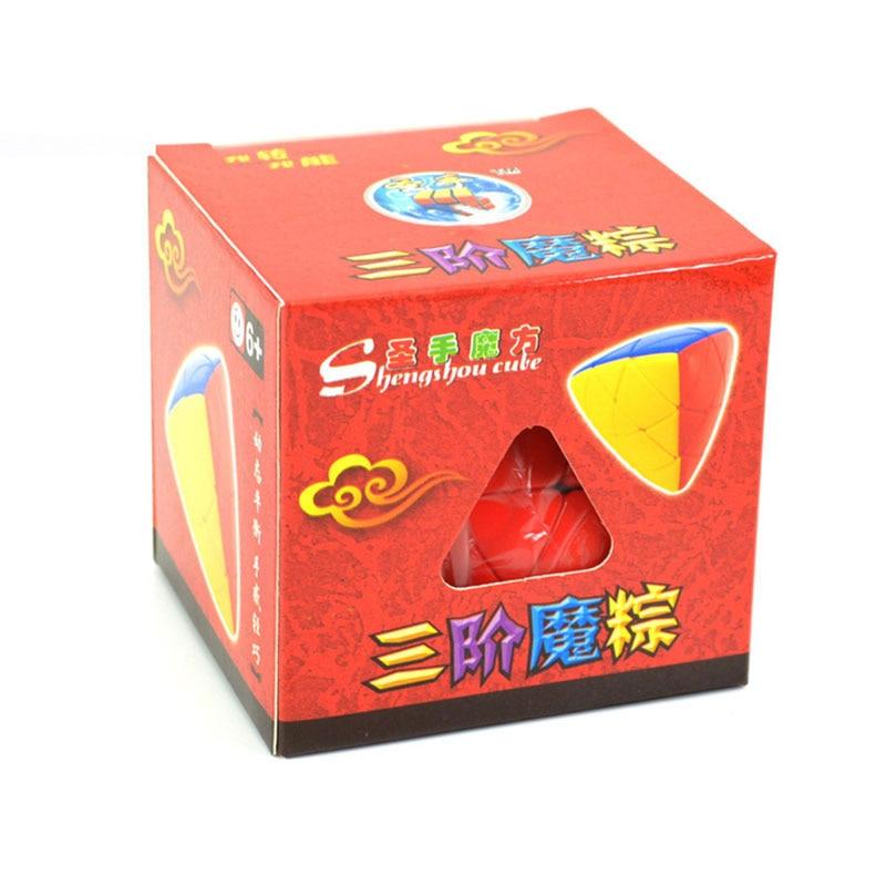 Shengshou Mastermorphix Magic Speed Cube Zongzi Rice Dumpling - Teka-teki - Foto 6