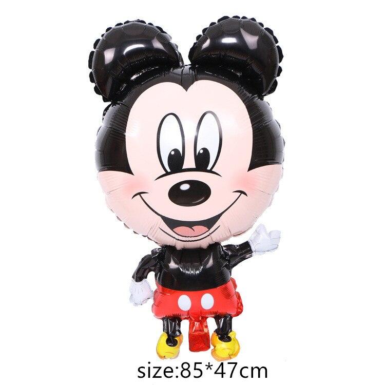 Гигантский мультяшный милый мышонок мультяшный воздушный шар из фольги воздушный шар детский день рождения украшения Классические игрушки подарок мультяшная шляпа - Цвет: 6