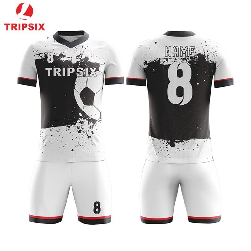 Custom Latest Football Jersey Design Sublimation Soccer Shirt And Short Soccer Jerseys Aliexpress