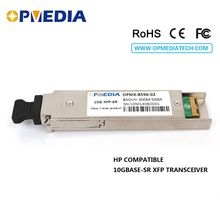 HP compatible 10GBASE-SR,850nm 300m XFP transceiver DDM function,dual LC connectors,optical module