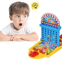 Снятие Стресса Игрушка Дети пинбол игра игрушечный комплект+ 36 шт. круглые шарики, усиливающие ребенка, концентрация, настольные игры, игрушка