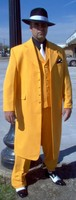 New Fashion Yellow Wedding Suits For Groom Men Tuxedo Jacket Slim Fit 3 Piece Suit Prom Men Suits Custom Blazer Terno Masculino