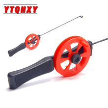 YTQHXY Winter Ice Fishing Rod 33cm Portable Pole with Reels Sport Ultra-light Tackle Casting Hard Tool WQ467