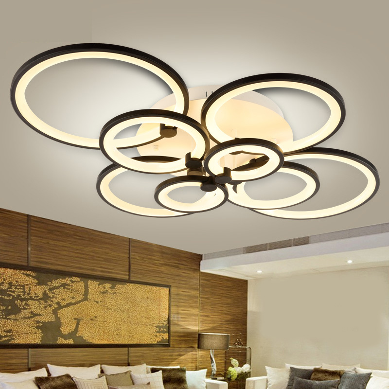 Modern Indoor Ceiling Lights : Led ceiling lamp surface mounted modern lights