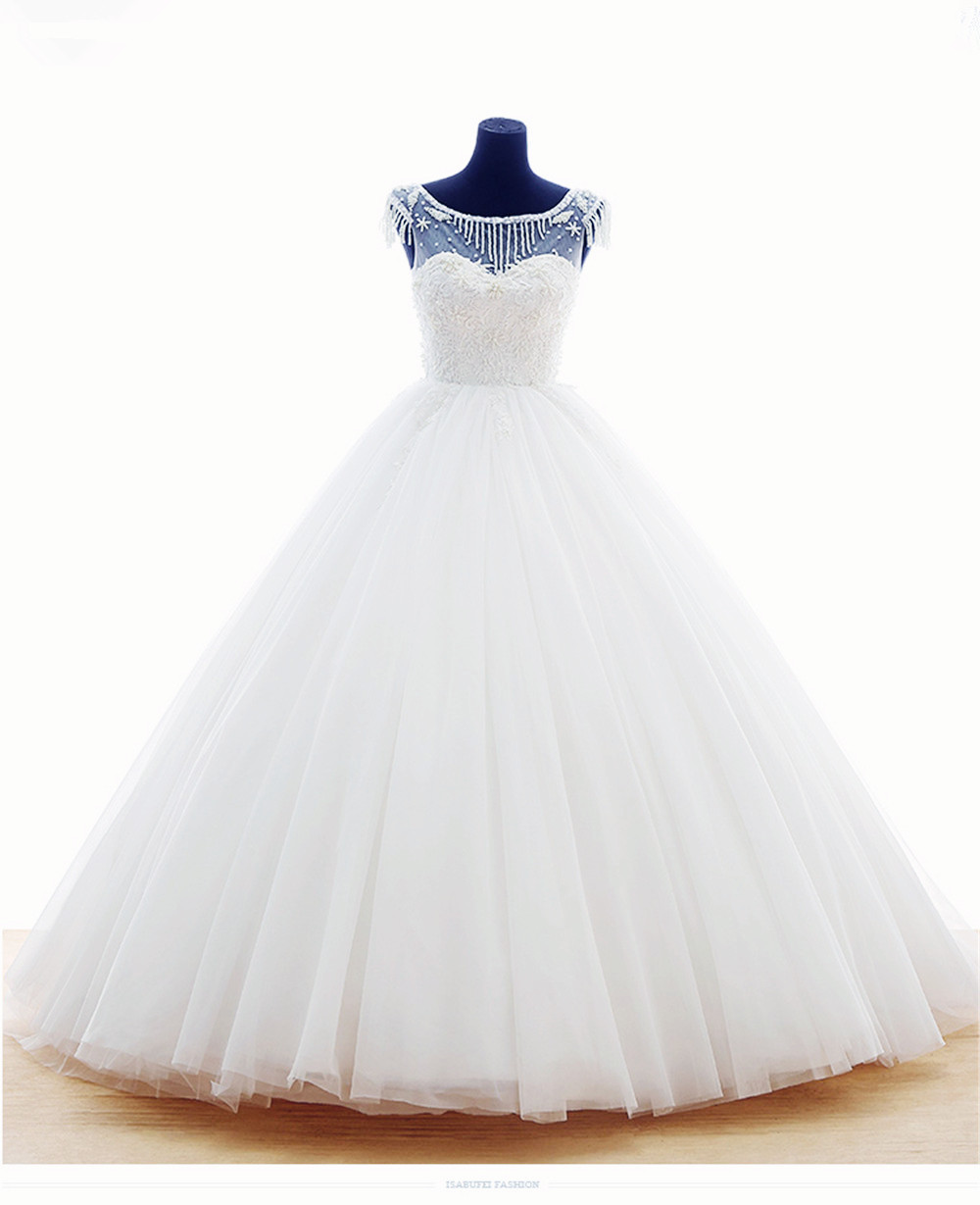 Mansa Real Sample Anna Campbell Wedding Dress Ball Gown Plus Size