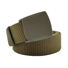 High Quality Automatic Buckle Nylon Belt Male Army Tactical Mens Military Waist Canvas Belts Cummerbunds Strap lona